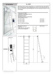 Schiebeleiter SL 6090