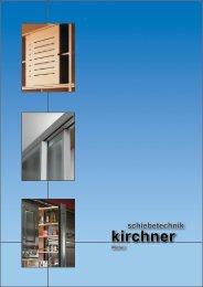 Schiebetechnik Möbel - G. Kirchner