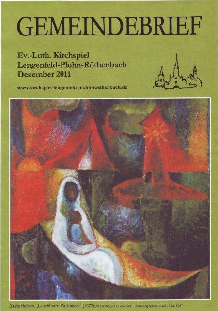 Gemeindebrief Dezember 2011 - Kirchspiel Lengenfeld Plohn ...