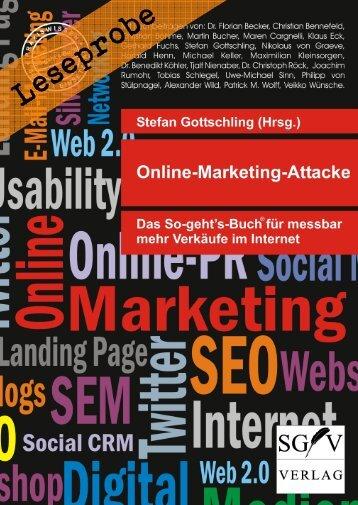 Leseprobe: Online-Marketing-Attacke - Das So-geht's-Buch für mehr Verkäufe im Internet