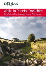 Walks in Pennine Yorkshire Viking Villages and Summer Wine ...