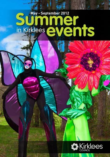Summer Events Guide 2012 - Kirklees Council
