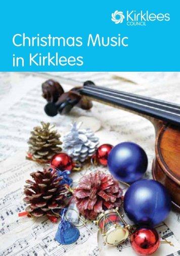 Christmas Music in Kirklees - Kirklees Council