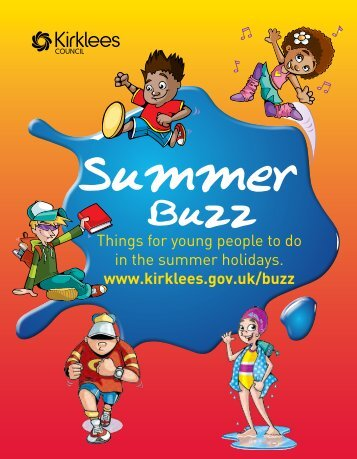 Summer Buzz 2011 - Kirklees Council