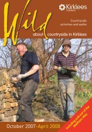 Wild about Countryside in Kirklees - Kirklees Council