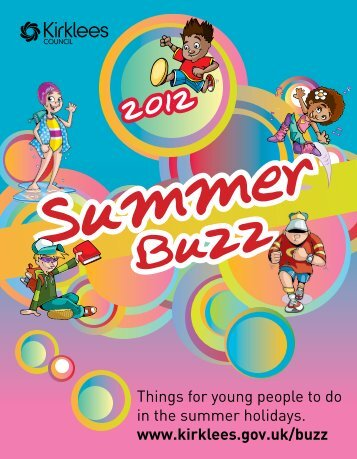 Summer Buzz 2012 - Kirklees Council