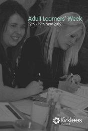 Adult Learners Week 2012 Booklet
