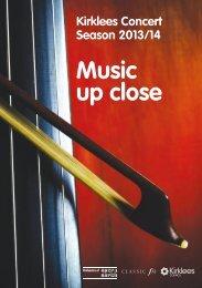 Kirklees Concert Season 2013/4 - Kirklees Council