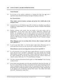 KMC Hackney Carriage Demand Study ... - Kirklees Council
