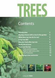 Living with Trees booklet - Kirklees Council