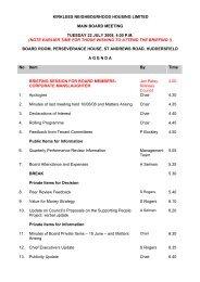 KNH Board Agenda 22 July 2008 - Kirklees Metropolitan Council