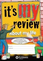 Review form for older children (PDF) - Kirklees Metropolitan Council