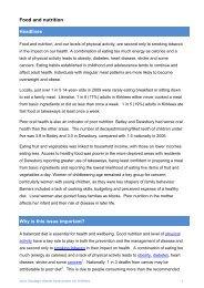 Kirklees JSNA Food and Nutrition - Kirklees Council