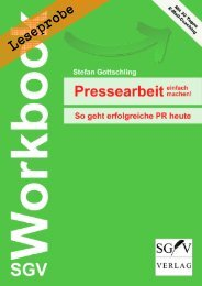 Leseprobe: SGV Workbook