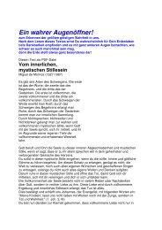 Bamberg - Ein wahrer Augen-366ffner, - Die Mission der ...