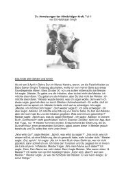 Kirpal, Die Anweisungen der Allmaechtigen Kraft, Teil II