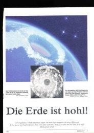 Die Erde ist hohl!