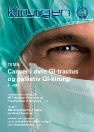 Last ned 1/2011 - Kirurgen.no