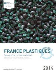 FRANCE PLASTIQUES 2014