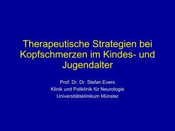 Kopfschmerz im Kindesalter_Therapeutische Strategien