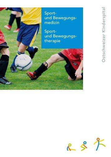Sportmedizin - Ostschweizer Kinderspital (KISPI)