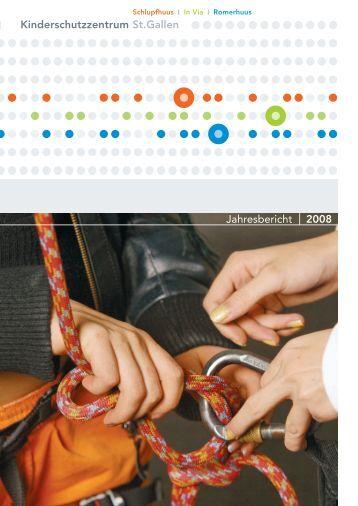 Jahresbericht 2008 - Ostschweizer Kinderspital