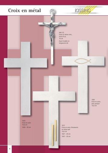 Croix en métal