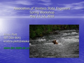 Hydrokinetic - Association of Western State Engineers
