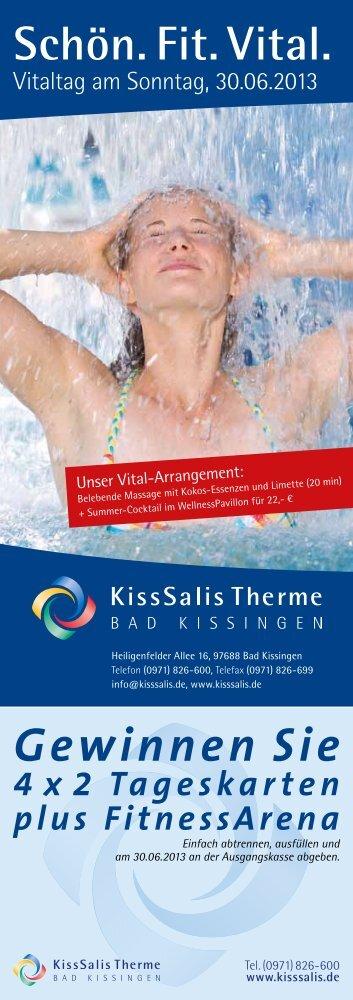 Zum Programm - KissSalis Therme