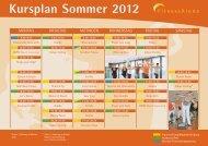 Kursplan Sommer 2012 - KissSalis Therme