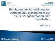 Simulation von Demand Side Management mit ... - EEG
