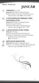 Rendezvénynaptár 2012. - Kisújszállás - Page 4
