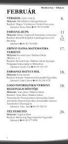 Rendezvénynaptár 2012. - Kisújszállás - Page 5