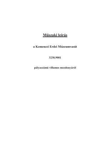 EL9 leírás - Kisvasut.hu