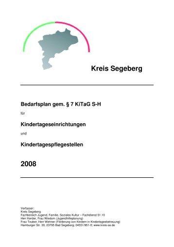 Kita-Bericht SE 2008b - Kreis Segeberg