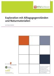 Exploration mit Alltagsgegenständen und ... - KiTa Fachtexte