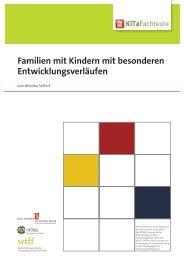 Familien mit Kindern mit besonderen ... - KiTa Fachtexte