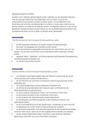 Qualitätsstandards im KiföG - Kita-Portal MV