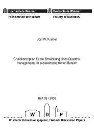 Jost W. Kramer Grundkonzeption für die Entwicklung eines Qualitäts ...