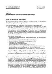 Antrag der AG Kinderbetreuung ... - Kita-Portal MV