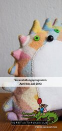April bis Juli 2013 - Vorstadtkrokodile