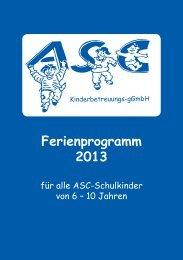 Ferienprogramm 2013 - Einzelseiten.indd