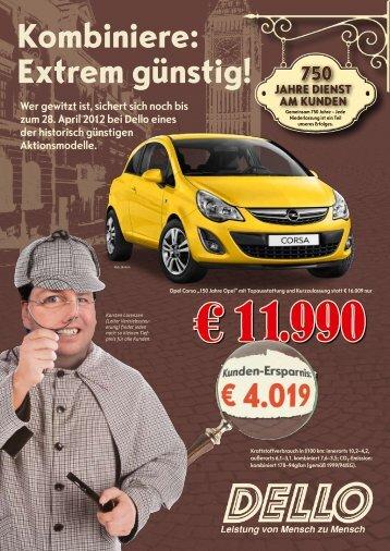 Kunden-ersparnis - Dello