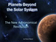 Planets Beyond the Solar System - KITP