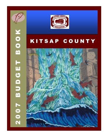2007 Budget Book - Kitsap County Government