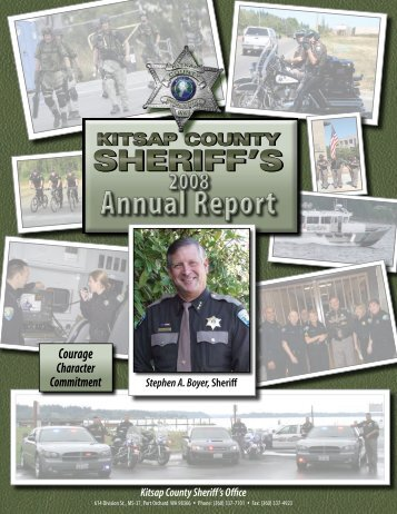 Kitsap County Sheriff's Office 2008 Annual Report