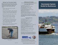 Stormwater System Guide for Businesses - Kitsap County Government