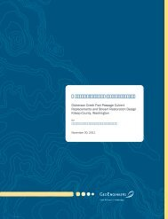 Dickerson Creek Wetland and Stream Characterization Report