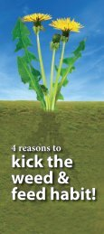 kick the weed & feed habit! - Kitsap County Government