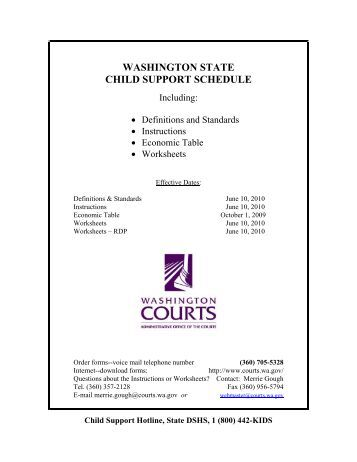 Worksheet Washington State Child Support Worksheet washington child support worksheet instructions intrepidpath state schedule kitsap county government b shared responsibility monthly child